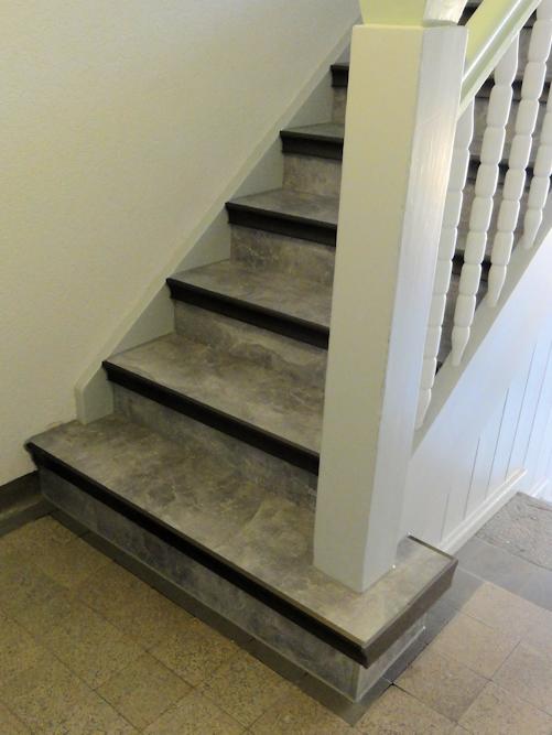Treppenhaus nach Renovierung